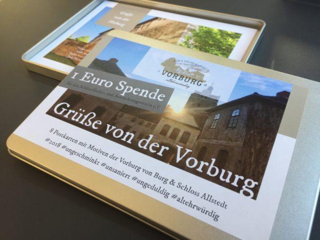 Grüße von der Vorburg – Postkartenset | Die Vorburg