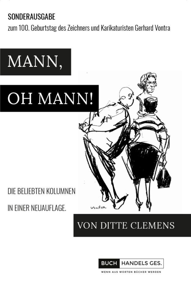Mann oh Mann | Ditte Clemens
